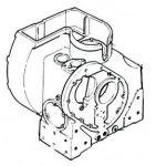 AGRALE BLOCO DO MOTOR M80/M85/M90