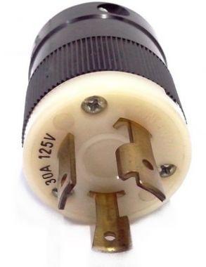 CONECTOR/TOMADA PARA GERADORES L5-30 30A 125V