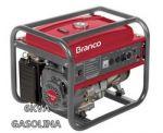 GRUPO GERADOR BRANCO B4T8000 6/6.5KVA GASOLINA PARTIDA MANUAL MONOFASICO 220V