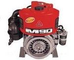 MOTOR DIESEL AGRALE M90 Potência: 9,2CV-1.800RPM / 12CV-2.400RPM Capacidade: 12,5L