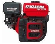 MOTOR GASOLINA KAWASHIMA GE700E Potência: 7HP-3,600RPM PARTIDA ELÉTRICA