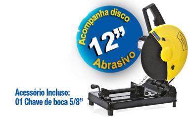 SERRA DE METAIS FERRARI SCR-12 Potência: 1.800W / Voltagem: 220V