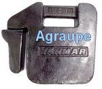 YANMAR CONTRA PESO FRONTAL 1030/104/1050D YB40.81111