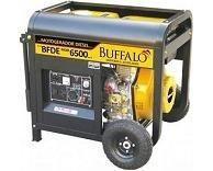GRUPO GERADOR BUFFALO BFDE6500 5,0KVA / 5,5KVA Voltagem: 380V trifásico Partida Elétrica