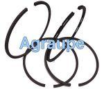 JOGO DE ANEIS P/HONDA 4HP GX120 075 CANALETA GROSSA DG46167 075 DANA ALBARUS
